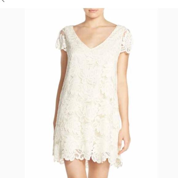 6cc142db407 BB Dakota Jacqueline Lace Shift Dress
